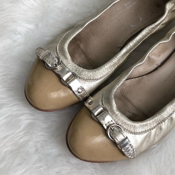 Attilio Giusti Leombruni Shoes | Agl Gold Leather Cap Toe